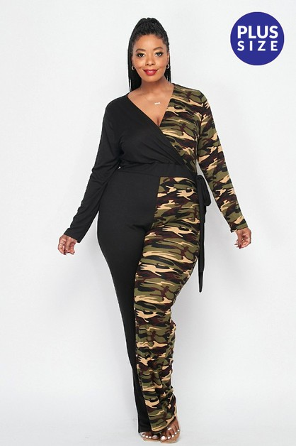 Plus Jumpsuit - orangeshine.com