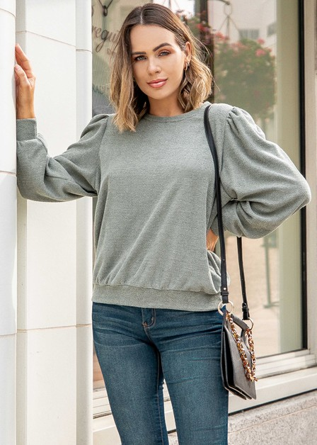 Solid Sweater  - orangeshine.com