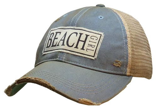 Beach Girl Trucker Hat - orangeshine.com