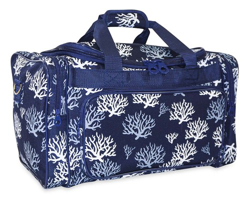Sea Coral Duffle Bag 19 inch - orangeshine.com
