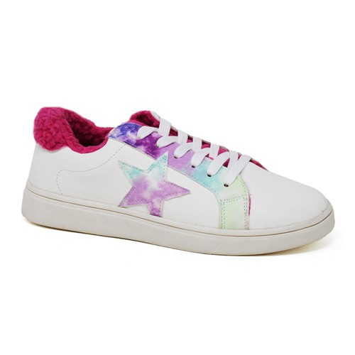 Women Lace-up Stars Low top Sn - orangeshine.com