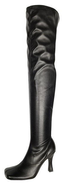 Women`s Heels Over Knee High Boots - orangeshine.com