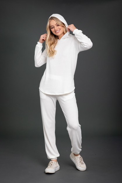 Hoodie Top and  Jogger Loungewear  - orangeshine.com