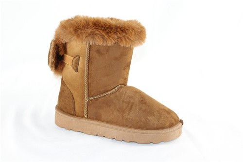 Women Fur Lined Winter Boots - orangeshine.com