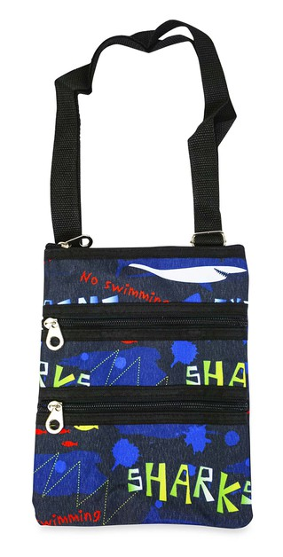 Sharks Crossbody Bag - orangeshine.com