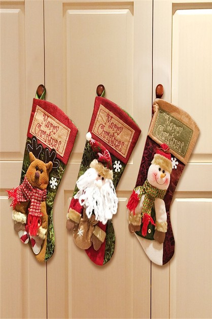 CHRISTMAS STOCKING SOCKS SET - orangeshine.com