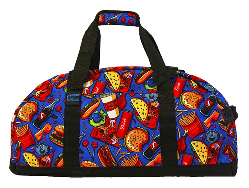 Fast Food Sports Gym Duffle Bag  - orangeshine.com