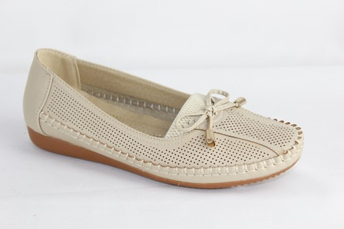 Women Round Toe Slip on Flats - orangeshine.com