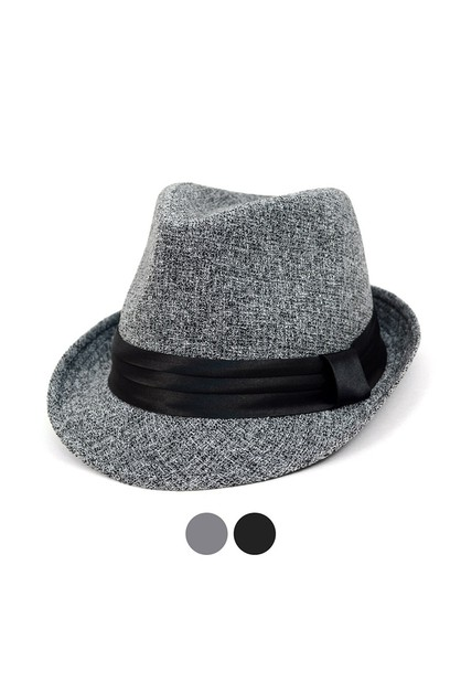Fall Winter Trilby Fedora Hat - orangeshine.com