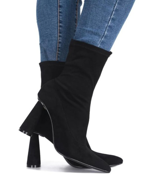 Women low-top winter boots - orangeshine.com