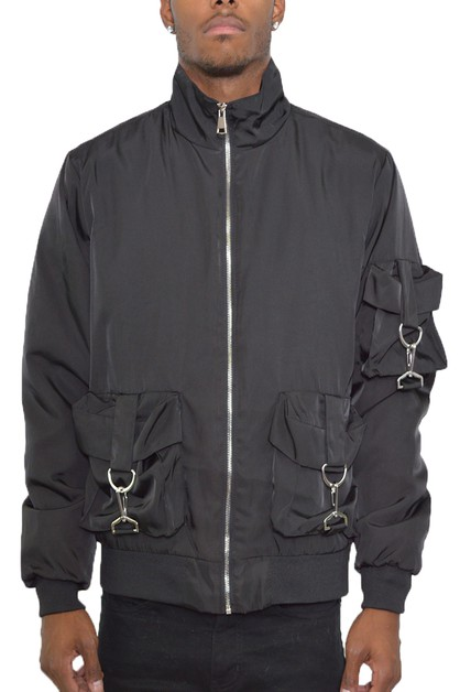 Utility Pocket Windbreaker - orangeshine.com