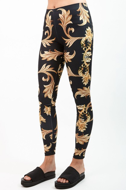Sublimated Leggings - orangeshine.com
