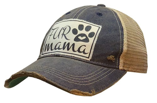 Fur Mama Trucker Hat - orangeshine.com