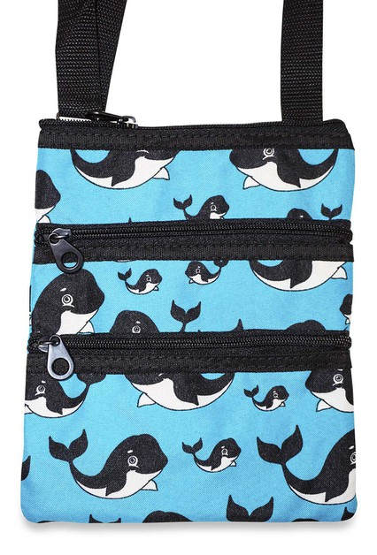 Whale Crossbody Bag - orangeshine.com