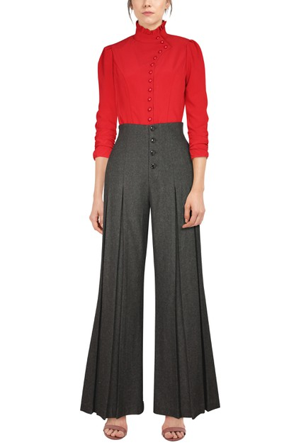 Wool Pants - orangeshine.com