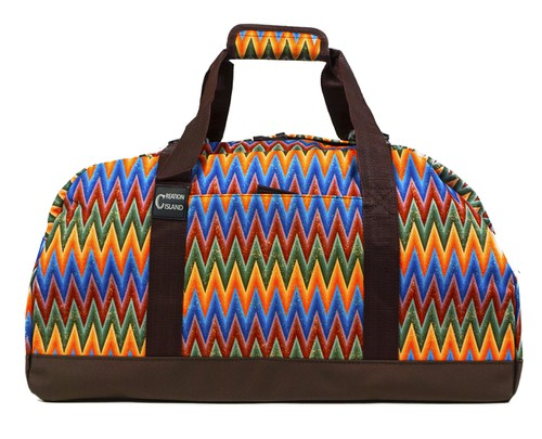 Chevron Duffle Bag 21 inch - orangeshine.com