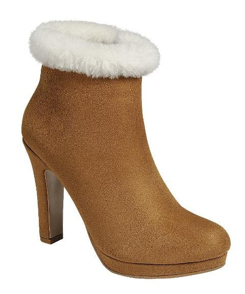 Women Furry Warm Snow booties - orangeshine.com