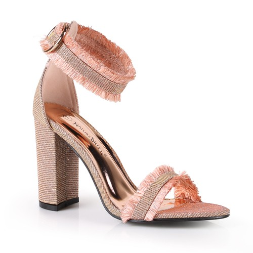 DIXIE-01 Womens Heel Sandals - orangeshine.com