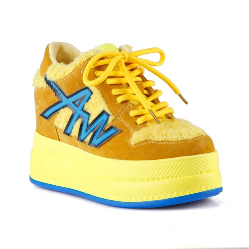 AnthonyWang Quince-01 Women Sneakers - orangeshine.com