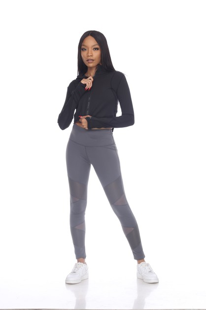 ACTIVE CROPPED JACKET - orangeshine.com