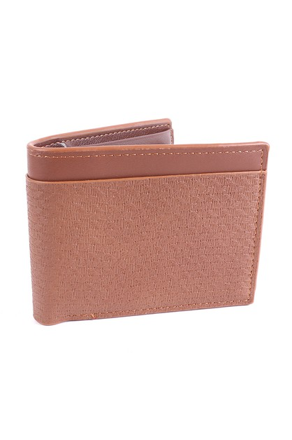 Mens Bi-fold  Leather Wallet - orangeshine.com