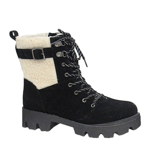 Girls Furry Warm Snow booties - orangeshine.com