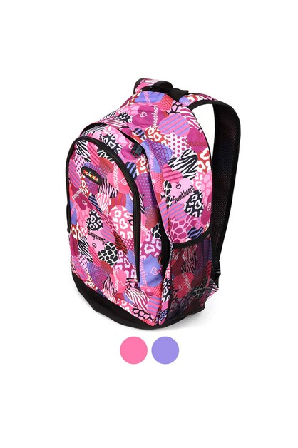 Sweetheart Pattern School Backpack - orangeshine.com