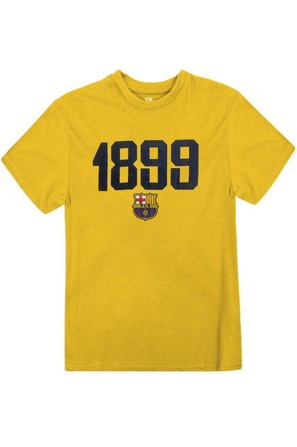 BOYS 1899 CREWNECK COTTON T-SHIRT - orangeshine.com