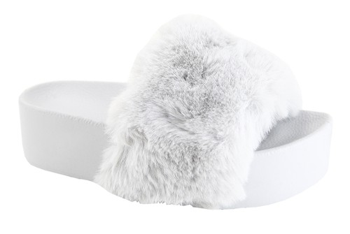 Soft Plush Fluffy Slippers - orangeshine.com