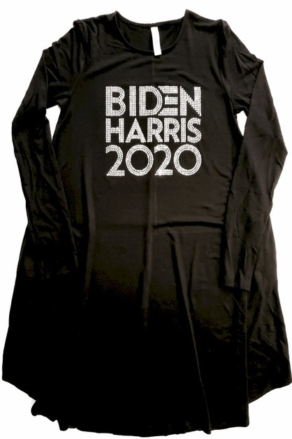 BIDEN HARRIS 2020 Tunic Dress - orangeshine.com