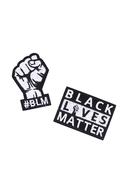 Iron on BLM Fabric Patches- BLMPatch - orangeshine.com