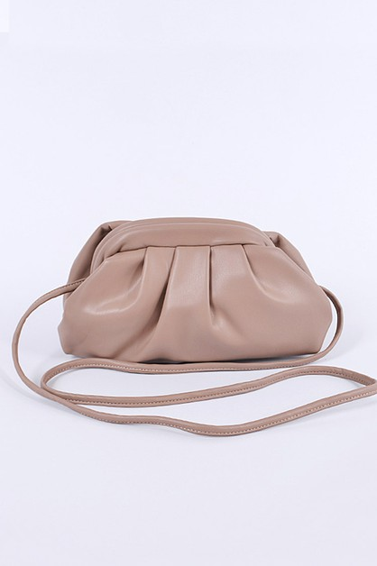 Pleated Cloud Swing Bag - orangeshine.com
