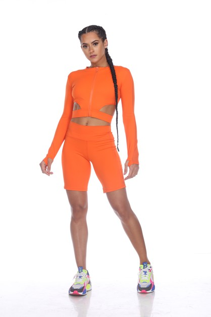 ZIPPED UP ACTIVE SETS - orangeshine.com