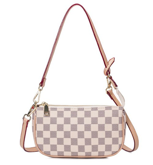 Stylish Checkered handbag - orangeshine.com