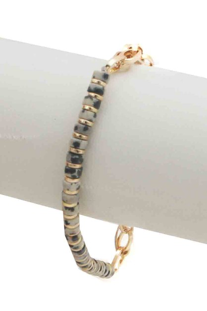 BEADS CHAIN  STRETCH BRACELET - orangeshine.com