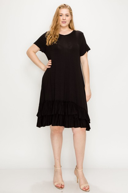 Plus Size midi dresses - orangeshine.com