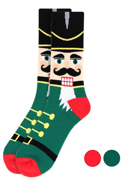 Mens Nutcracker Novelty Socks - orangeshine.com