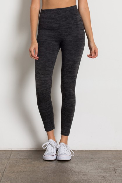 Knit Slim Fit Stretch Fleece Legging - orangeshine.com
