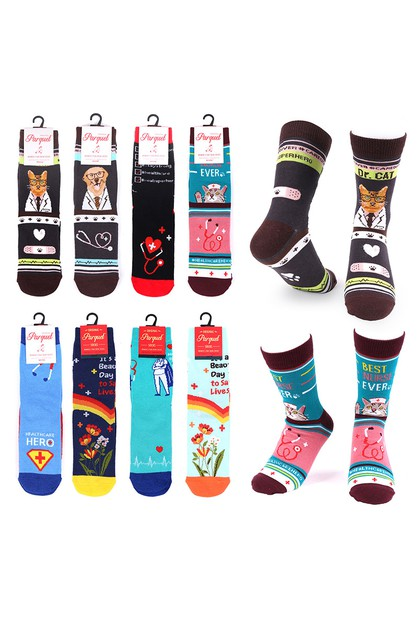 12pc Womens  Health Care Socks - orangeshine.com