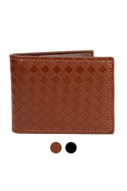 Bi-Fold Leather Wallet - MLW04161 - orangeshine.com
