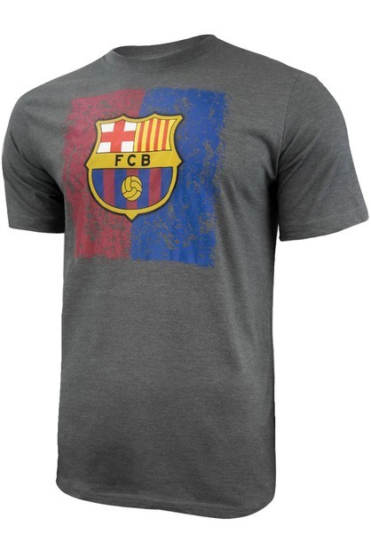 FC BARCELONA DISTRESSED LOGO T-SHIRT - orangeshine.com
