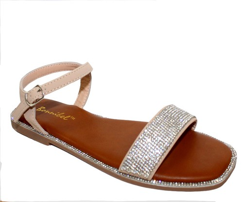Ankle Wrap Flat Sandals - orangeshine.com