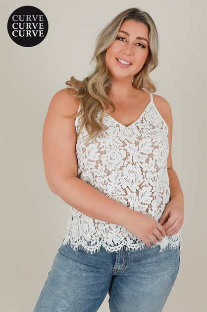 Lace Cami Top - orangeshine.com