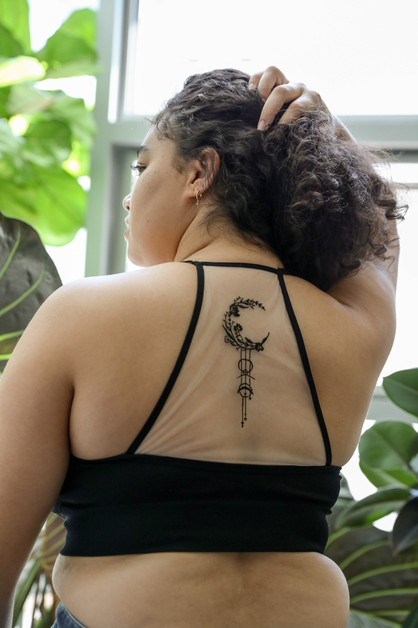 Dream Catcher Tattoo Bralette Plus - orangeshine.com