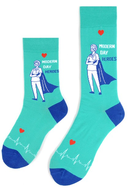 Health Care Heroes - Premium Socks - orangeshine.com