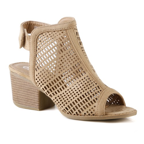 S-60 Women Block Heel Sandals - orangeshine.com
