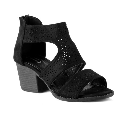 S-59 Women Block Heel Sandals - orangeshine.com