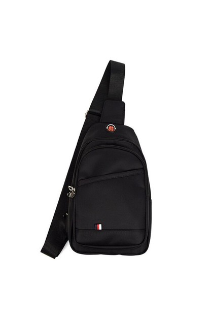 Black Urban Crossbody Sling Bag  - orangeshine.com