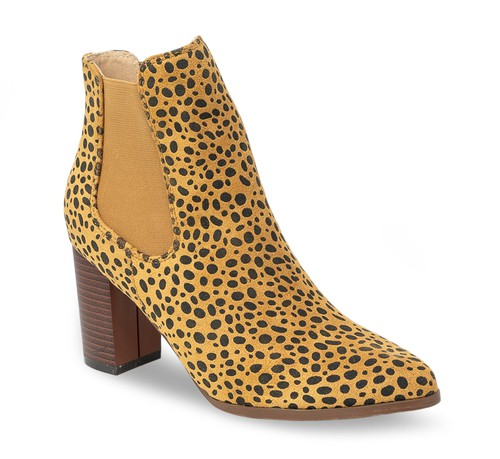 Stomp High Heel Ankle Boots - orangeshine.com