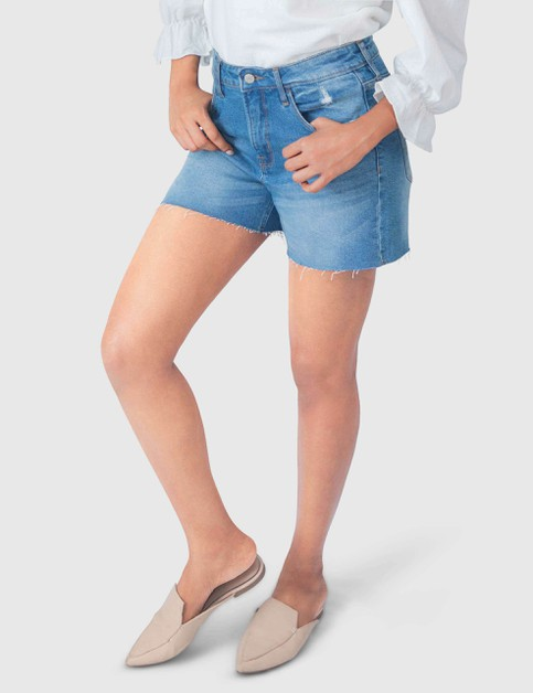 WOMENS STRETCH FRAYED CUT-OFF SHORTS - orangeshine.com